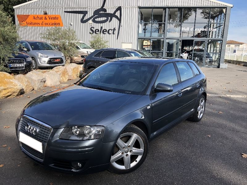 Achat Audi A3 Sportback 2.0 TDI 140CH DPF AMBITION LUXE occasion à Toulouse (31)
