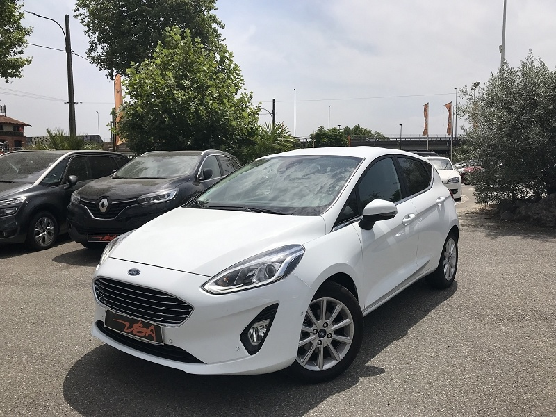 Achat Ford Fiesta 1.1 85CH TITANIUM 5P EURO6.2 occasion à Toulouse (31)