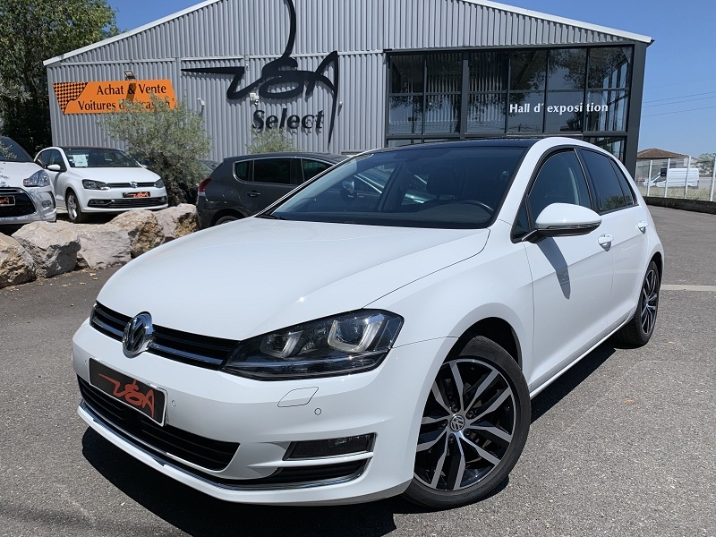 Achat Volkswagen Golf Vii 2.0 TDI 150CH BLUEMOTION TECHNOLOGY FAP MATCH ALLSTAR 5P occasion à Toulouse (31)