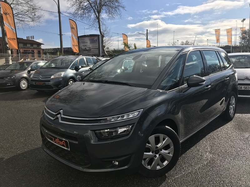 Achat Citroen Grand C4 Picasso BLUEHDI 120CH BUSINESS S&S 98G occasion à Toulouse (31)