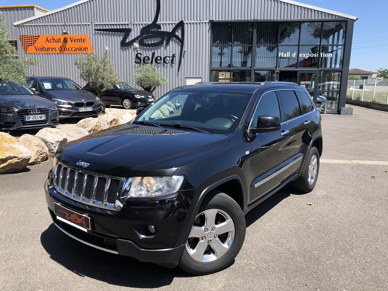 Achat Jeep Grand Cherokee 3.0 CRD241 V6 LIMITED occasion à Toulouse (31)