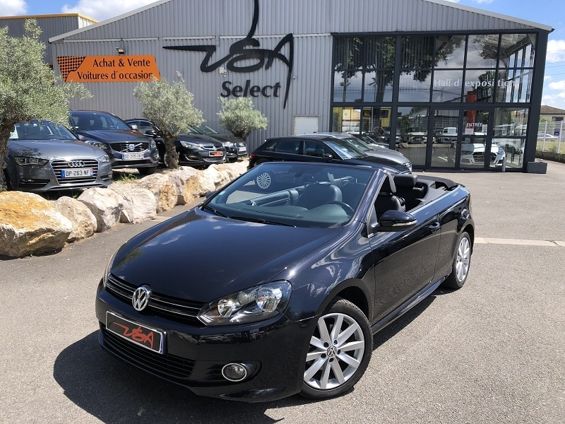 Achat Volkswagen Golf Vi Cabriolet 1.2 TSI 105CH CARAT occasion à Toulouse (31)